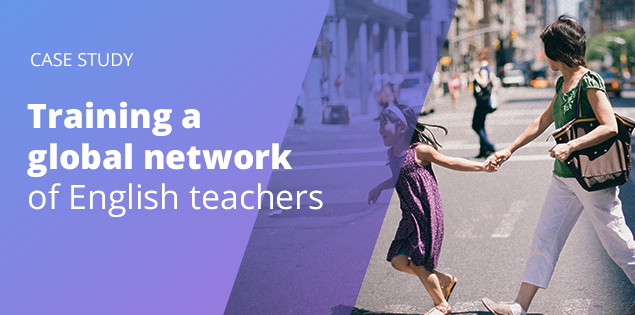 Training a global network of English teachers