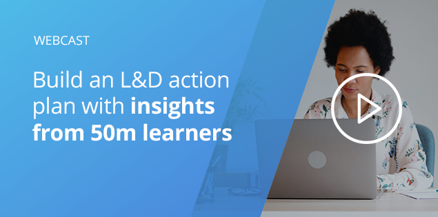 L&D action plan for COVID-19 based on insights from 50M learners