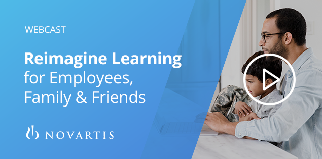 Reimagine learning for employees, friends and family