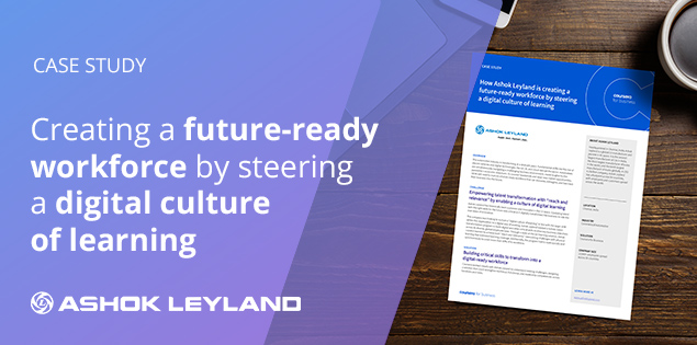 Creating a future-ready workforce by steering a digital culture of learning